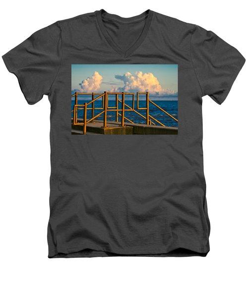 Golden Railings Men's V-Neck T-Shirt