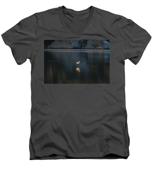 Goosander Men's V-Neck T-Shirt