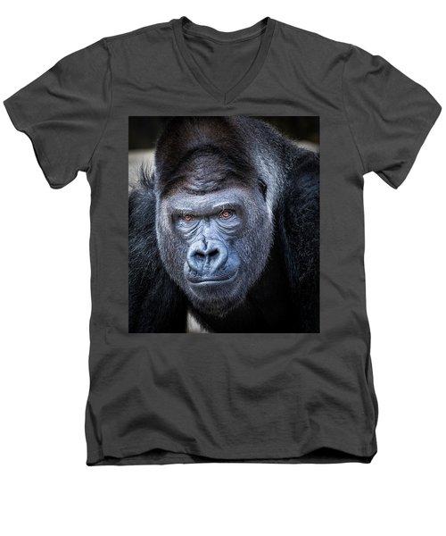Gorrilla  Men's V-Neck T-Shirt