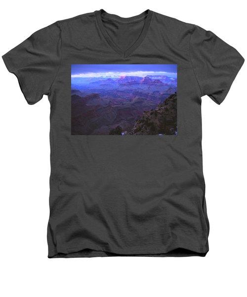 Grand Canyon Twilight Men's V-Neck T-Shirt