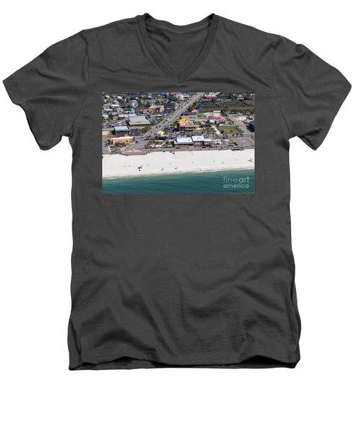 Gulf Shores Beach 7139 Men's V-Neck T-Shirt