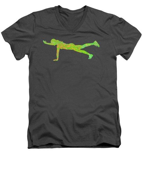 Gym Art 1 Men's V-Neck T-Shirt