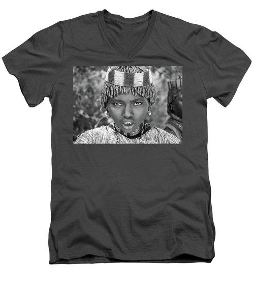 Hammer Girl Men's V-Neck T-Shirt