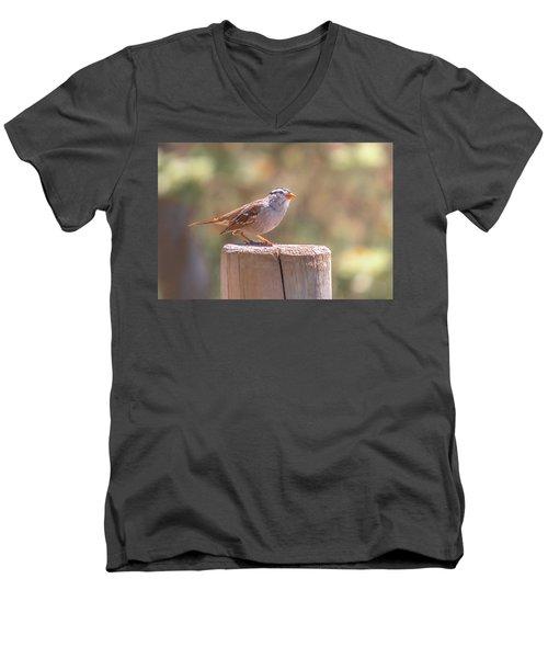 Hanging Out Men's V-Neck T-Shirt