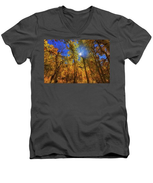 Happy Fall Men's V-Neck T-Shirt