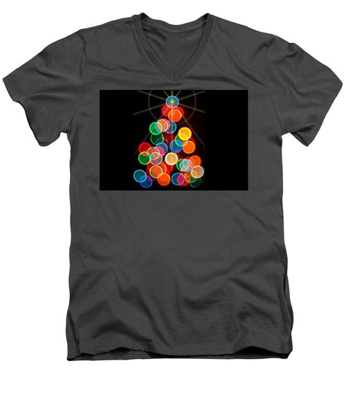 Happy Holidays - 2015-r Men's V-Neck T-Shirt