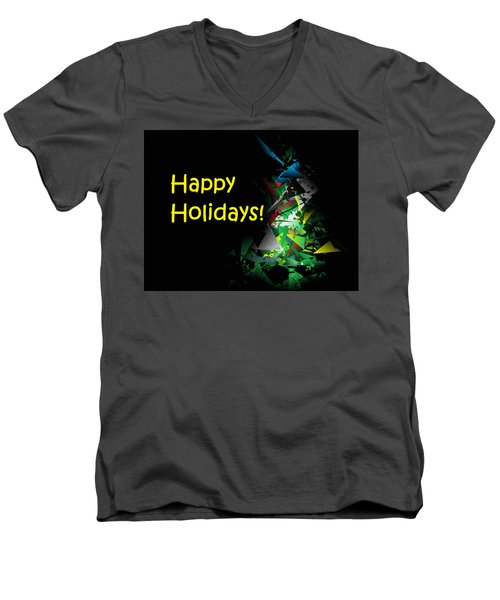 Happy Holidays - 2018-1 Men's V-Neck T-Shirt
