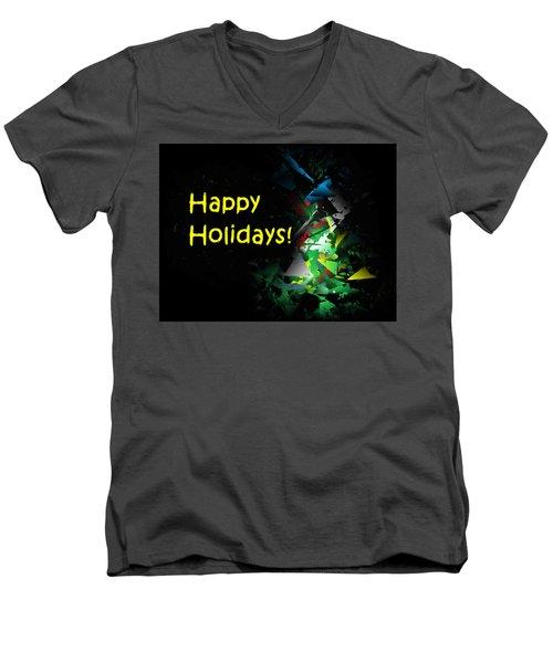 Happy Holidays - 2018-7 Men's V-Neck T-Shirt
