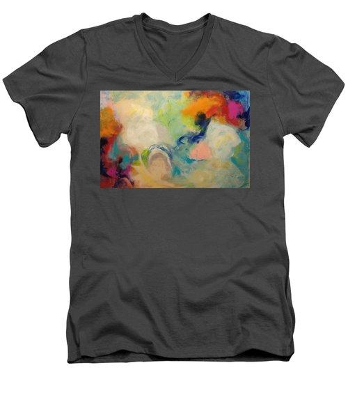 Happy Motions Men's V-Neck T-Shirt