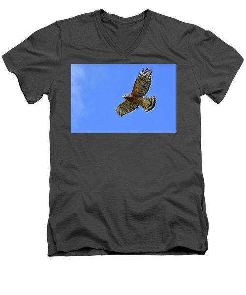 Hawk On The Go Men's V-Neck T-Shirt