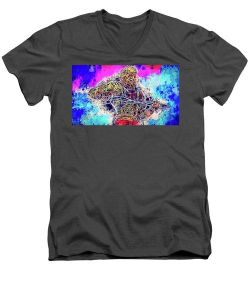 He - Man Men's V-Neck T-Shirt