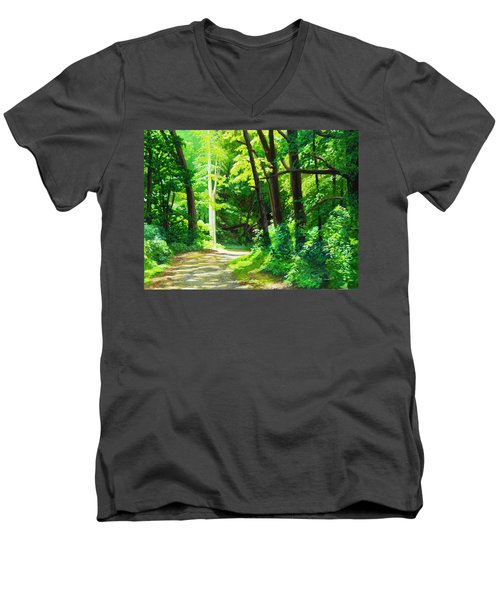 Heaven And Nature Sings Men's V-Neck T-Shirt