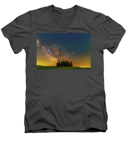 Heaven On Earth Men's V-Neck T-Shirt