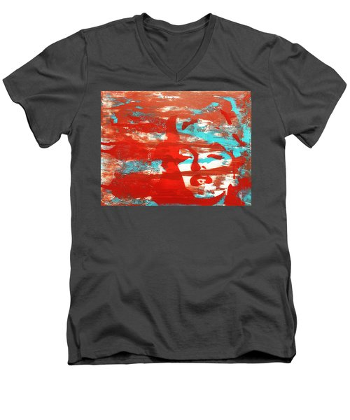 Her Glow Men's V-Neck T-Shirt