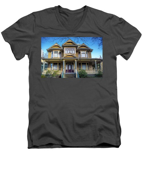 Heritage House Men's V-Neck T-Shirt