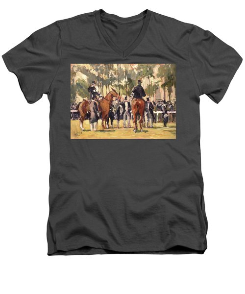 Hippique Maastricht Men's V-Neck T-Shirt