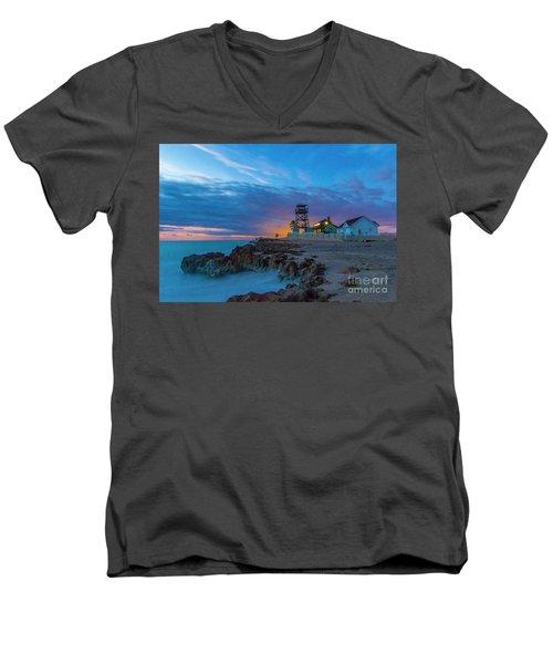 House Of Refuge Morning Men's V-Neck T-Shirt