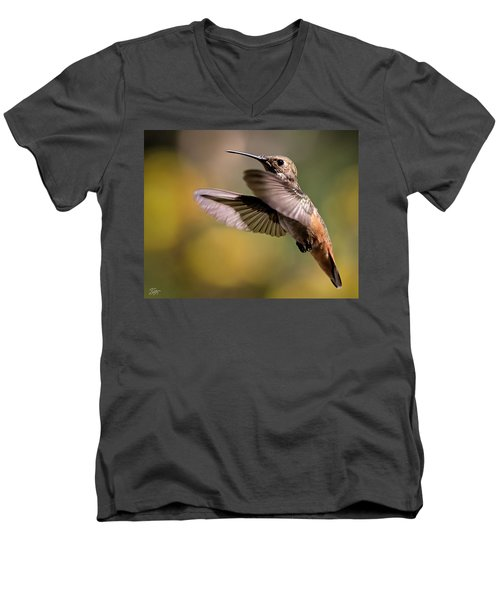 Hummer 4 Men's V-Neck T-Shirt
