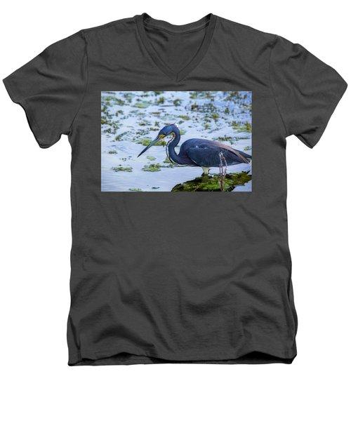 Hunt For Lunch Men's V-Neck T-Shirt