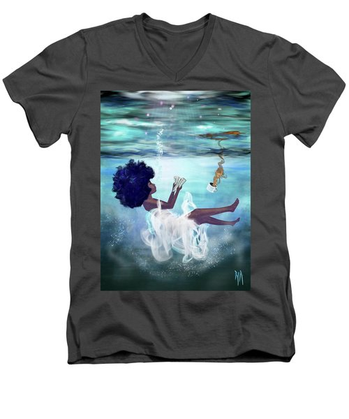 I Aint Drowning Men's V-Neck T-Shirt