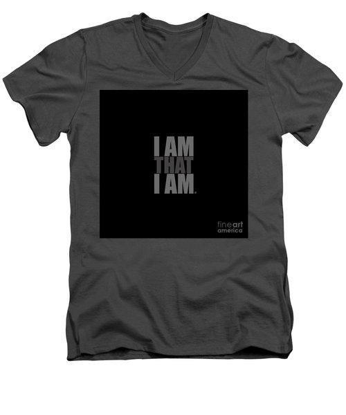 I Am That I Am Men's V-Neck T-Shirt