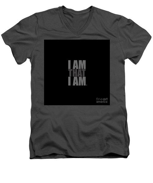 I Am That I Am Men's V-Neck T-Shirt