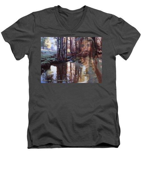 I Made It All For You Men's V-Neck T-Shirt