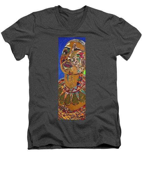 Ibukun Ami Blessed Mark Men's V-Neck T-Shirt
