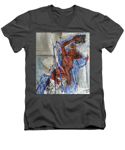 If We Kissed Men's V-Neck T-Shirt