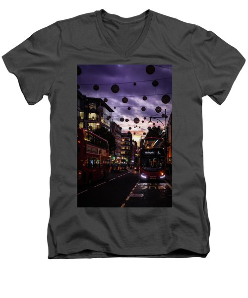 Illuminated Men's V-Neck T-Shirt