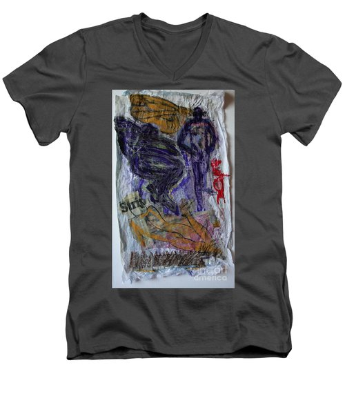 In A Vice Like Grip Of Hate Men's V-Neck T-Shirt