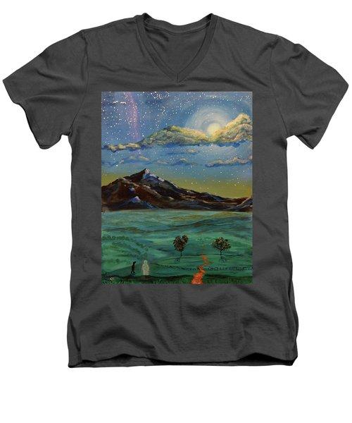 In My Dreams Men's V-Neck T-Shirt