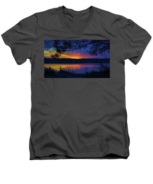 In The Blink Of An Eye Men's V-Neck T-Shirt