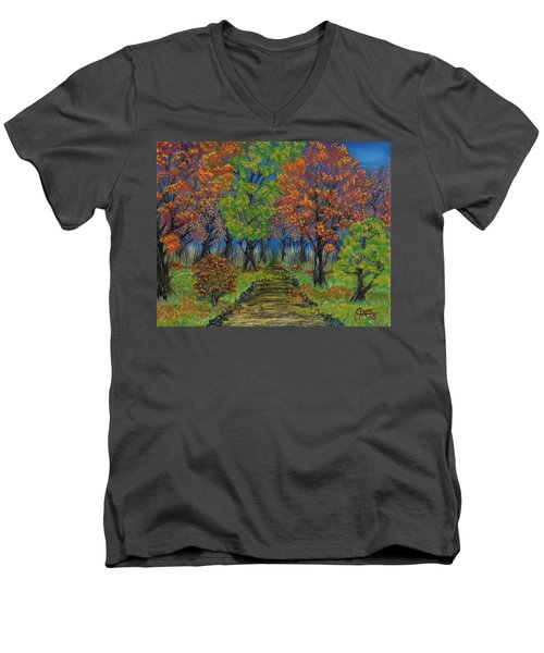 In The Fall Men's V-Neck T-Shirt