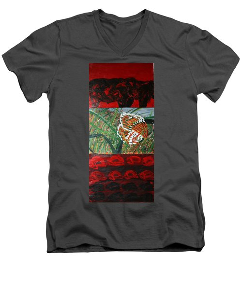 In The Scheme Of Things Men's V-Neck T-Shirt