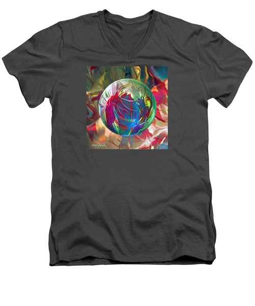Indigofera Tinctorbia Men's V-Neck T-Shirt