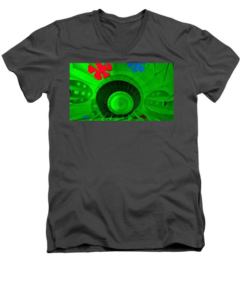 Inside The Green Balloon Men's V-Neck T-Shirt
