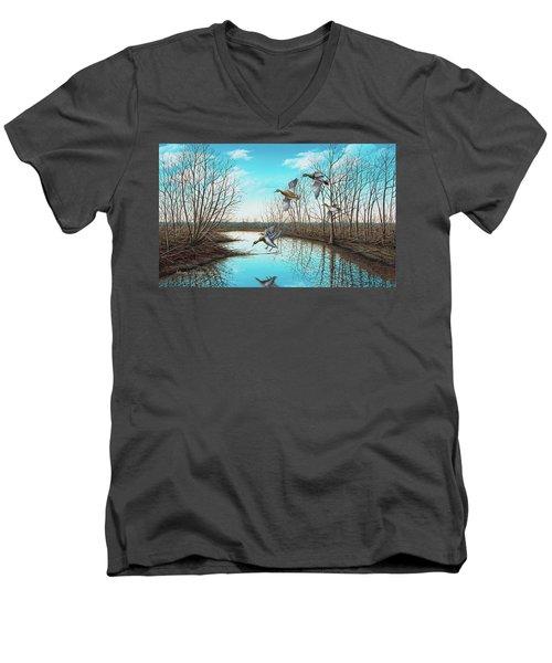 Intruder Men's V-Neck T-Shirt