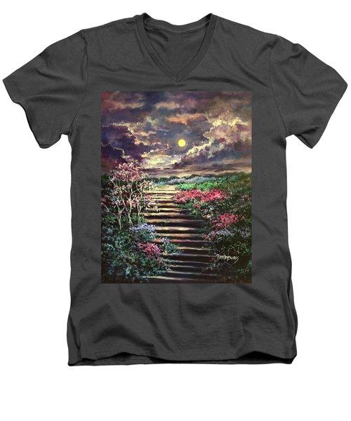 Invitation To Heaven Men's V-Neck T-Shirt