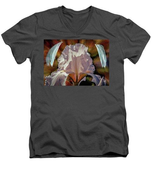 Iris And Angel #i8 Men's V-Neck T-Shirt