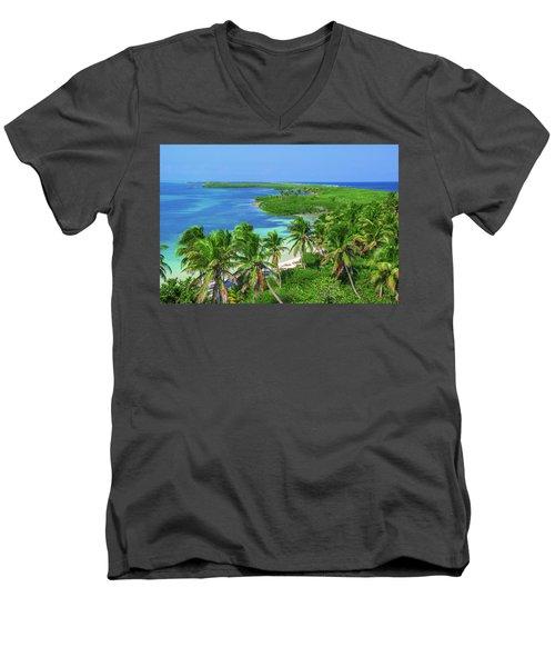 Isla Contoy Men's V-Neck T-Shirt
