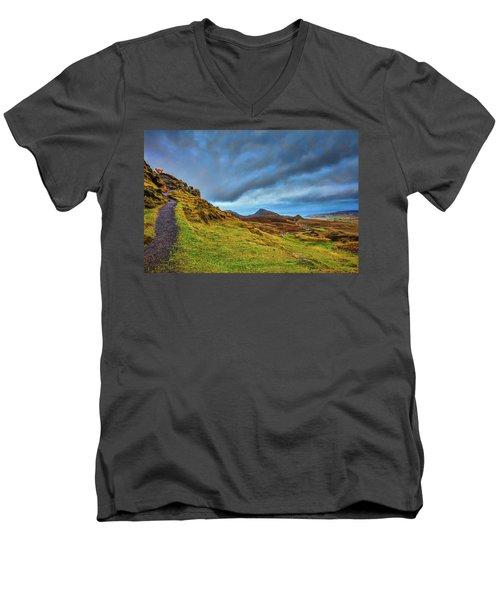 Isle Of Skye Landscape #i1 Men's V-Neck T-Shirt