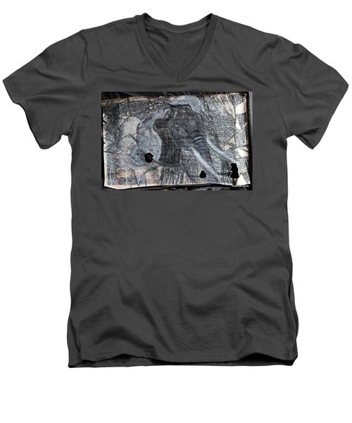 Isn't There Always An Elephant That No One Can See Men's V-Neck T-Shirt