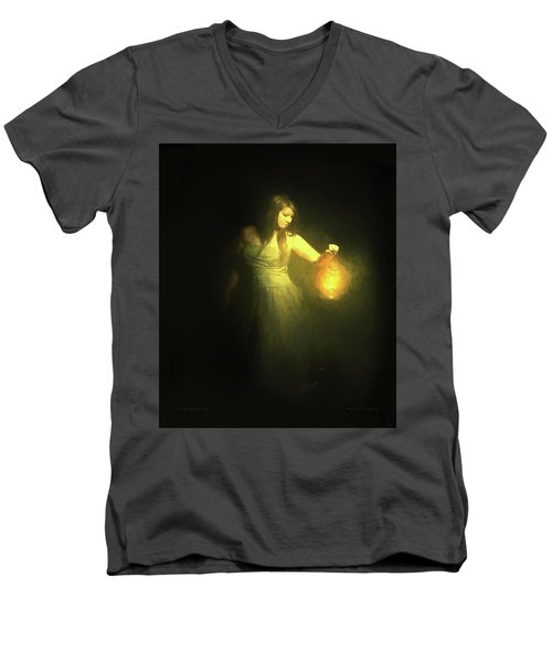 It Beckons Me Men's V-Neck T-Shirt
