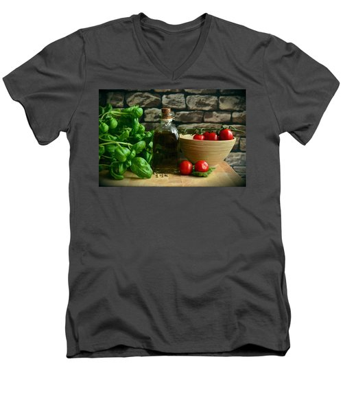 Italian Ingredients Men's V-Neck T-Shirt
