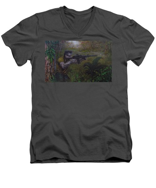 Jackson Men's V-Neck T-Shirt
