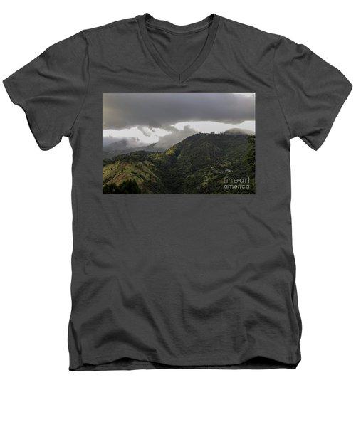 Jamaican Blue Mountains Men's V-Neck T-Shirt