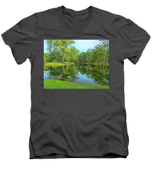 Jessamine Pond Men's V-Neck T-Shirt
