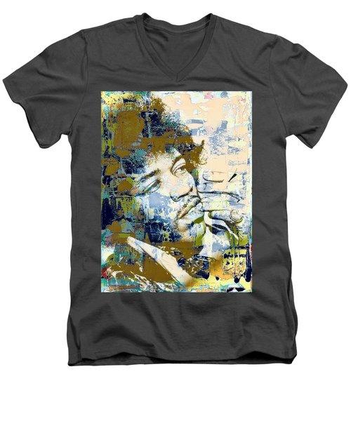 Jimi Soul Men's V-Neck T-Shirt