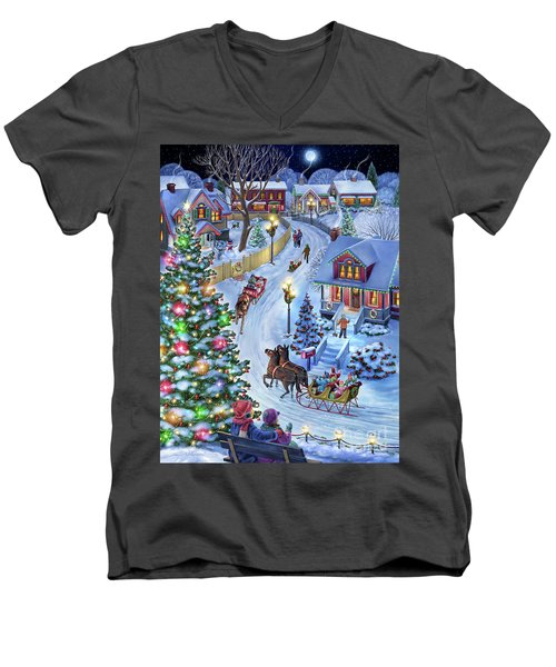 Jingle All The Way Men's V-Neck T-Shirt